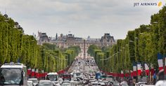 Champs-Élysées: The world's most picturesque street, home to many beautiful French monuments. Totally recommended. #BonjourParis