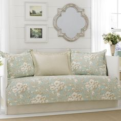 Laura Ashley Brompton Serene 5-piece Daybed Cover Set