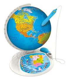 Clementoni Globe Interactive Explore the world App, Sports, Designs, Toys For Girls, Shape, Gifts For Children, Globe, Educational Games, Scouts