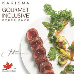 Karisma Hotels & Resorts, a renowned leader in hospitality management, operates a premier collection of award-winning properties in Mexico, Jamaica, and the Dominican Republic. Karisma's Gourmet. Mexico Resorts, Amazing Destinations, Foodie Travel, Hotels And Resorts, Wines, Destination Wedding, Beef, Dominican Republic, Jamaica