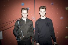 Wood Wood Backstage Fall 2014 At Copenhagen Fashion Week • Selectism
