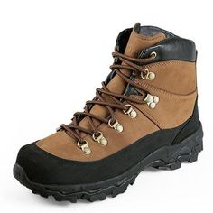Tactical Military Combat Boots Lightweight All Terrain Real Leather Trekking Shoes for Hiking Cimbing Trekking - 2 Colors Brown Black Best Hiking Boots, Hiking Boots Women, Trekking Shoes, Hiking Shoes, Hiking Gear, Men Hiking, Baskets, Military Combat Boots, Yellow Boots