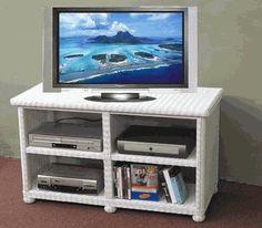 #Elana #Widescreen #Wicker TV Stand by wicker liked... | Wicker Blog  wickerparadise.com