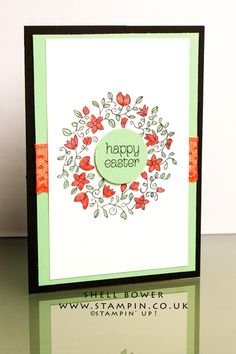 Shell Bower Independent Stampin' Up! Demo Circle of spring