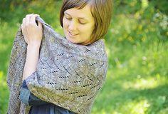Driftwood shawl by Veera Välimäki, knitting pattern