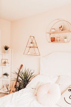 Home Interior Decoration .Home Interior Decoration Cute Bedroom Ideas, Cute Room Decor, Trendy Bedroom, Aesthetic Room Decor, Dream Rooms, My New Room, House Rooms, Room Inspiration, Bedroom Decor