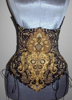 e784689501 Ornate Underbust Corset as a seperate. Heirlooms Sew Creative