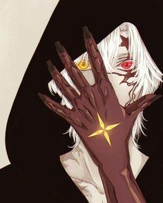 Anime: D. Gray-man Karakter: Allen walker