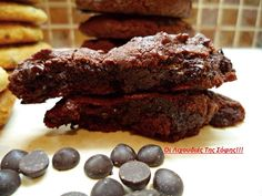 Μαλακά νηστίσιμα cookies! | Sokolatomania Sokolatomania Biscuit Cookies, Vegan Baking, Sweet Recipes, Cupcake Cakes, Deserts, Food And Drink, Cooking Recipes, Sweets, Snacks