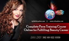 Complete Perm Training Course Online for Fulfilling Beauty Career
