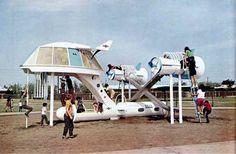 1968 Space Cruiser Playground Ship