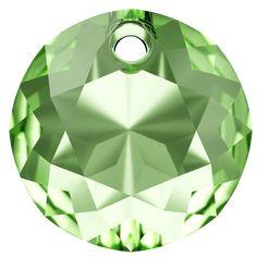 SWAROVSKI® 6430 Classic Cut Pendant (214 Peridot) Swarovski, Peridot, Innovation, Spring Summer, Pendant, Classic, Home Decor, News, Derby