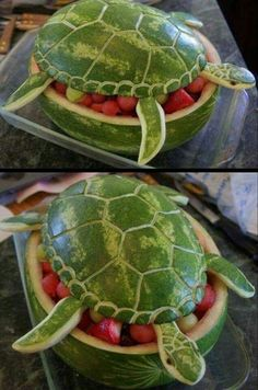 Great idea for fruit salad!