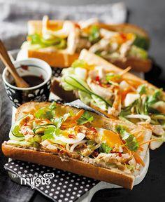 Sandwichs Bahn Mi au porc #recette