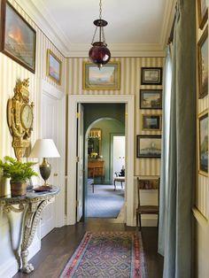 Traditional Interior, Classic Interior, Traditional House, Foyer Decorating, Interior Decorating, Southern Decorating, Decorating Tips, Residential Architecture, Architecture Design