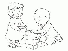 nice caillou coloring pages selfcoloringpages