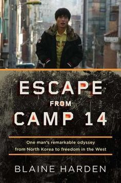 Escape from Camp 14 by Blaine Harden – Shin Dong-hyuk shares his true story of being born inside Camp 14 – one of North Korea's political prisons – and his life within its walls before his dangerous escape to South Korea. (210 pages)