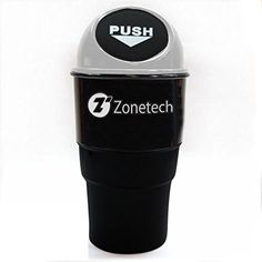 Zone Tech Portable Mini Car Garbage Can  Classic Black and Gray Premium Quality Black Universal Traveling Portable Car Trash Can ** Continue to the product at the image link.Note:It is affiliate link to Amazon.