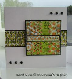arty card with dylusions inks and stencils