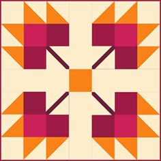 Beginner Patterns for Quilting. Traditional quilt blocks done in the One Block Only style.