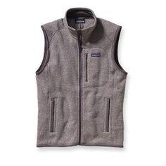 Patagonia Men's Better Sweater Vest in Black