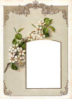 Victorian Photo Album Frame ~ Zibi Vintage Scrap