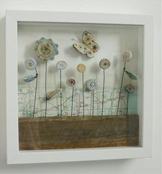 Wold flowers - Shirley Vauvelle