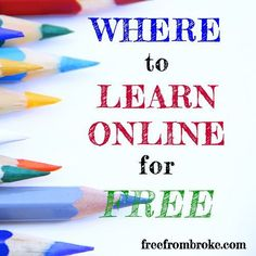 Where to Educate Yourself for Free Online – You Don't Need to Spend to Learn college student resources, college tips #college
