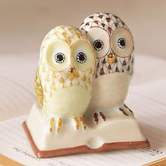 Need these for school!! - Herend Owls