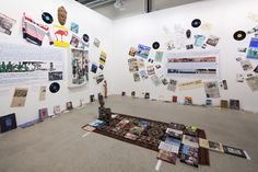 GEORGES ADÉAGBO Wien Lukatsch at Art Basel 2015. Photo by Alec Bastian for Artsy.