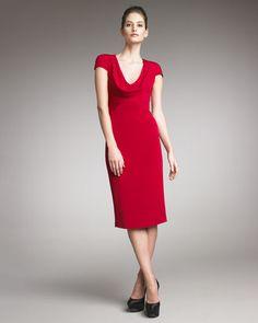 Little red dress...