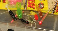Fishing With Soft Plastics for Panfish