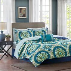 Madison Park Essentials Serenity 7-9 Piece Comforter Set - BedBathandBeyond.com