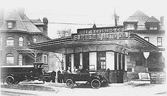 The first ever drive-in gas station opened in 1913 in Pittsburgh, PA #100years