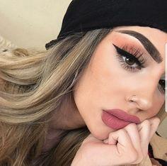 Maquillaje makeup art, beauty makeup, hair makeup, hair beauty, makeup on f Cute Makeup, Gorgeous Makeup, Pretty Makeup, Simple Makeup, Natural Makeup, Hair Makeup, Makeup Glowy, Sephora Makeup, Drugstore Makeup