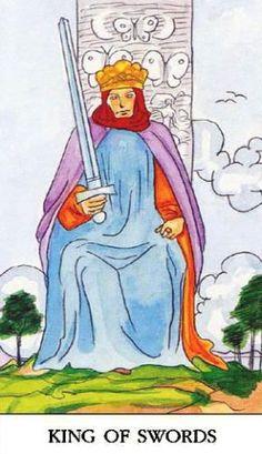 Značenje tarot karte Kralj mačeva