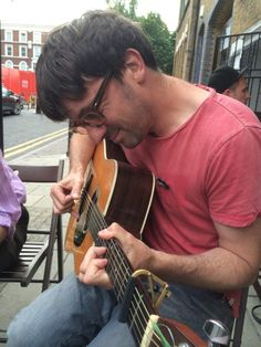 Graham at the launch event for The Ballad of Shirley Collins movie project yesterday (Source) Shirley Collins, Blur Band, Graham Coxon, You Really Got Me, Damon Albarn, British People, Britpop, Vintage Music, Gorillaz