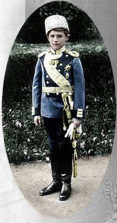 The Romanovs. Tsarevich Alexei Nikolaevich (1904 – 1918) of Russia, son of Emperor Nicholas II, 1909 – 1912.