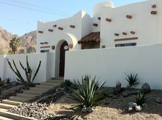 If you love Santa Fe homes, the La Quinta cove is for you!  Under $300,000!