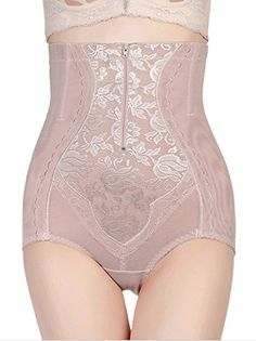1e8fff4cff0 Viqiv Womens Shapewear Brief Seamless HiWaist Firm Control Panty US1416Tag  with 5XL Beige   Check out