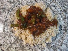 Pepper Steak & Brown Rice Recipe | Mommy Blogs @ JustMommies