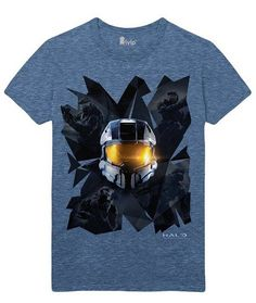 Halo Master Chief Collection Prisms T-Shirt - Size Large  Manufacturer: Gaya Entertainment Barcode: 4260354646309 Enarxis Code: 016412 #toys #t-shirt #Halo #Master_Chief #videogames
