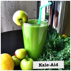 My version of a Green Juice concoction I recently had at True Food Kitchen - my new favorite healthy, allergy-friendly restaurant. They have...