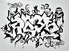 Graffiti & Sketch