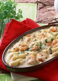 Amazing Pinterest world: Shrimp Pasta Casserole