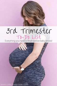 third trimester to do list