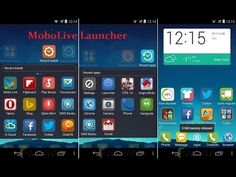 MoboLive launcher  para cualquier celular y Tablet Android
