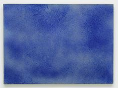 Yves Klein - Cosmogonie sans titre, (COS 26) (Untitled Cosmogony [COS 26]), 1961, Pigment and binding agent on paper, mounted on canvas, 30 x 41 inches