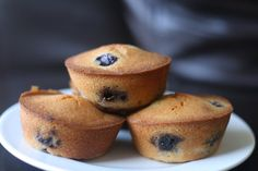 Blueberry Mochi Mini Cakes - I've been meaning to make more mochi cupcakes, couldn't hurt to try a new recipe.