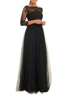 **Chi Chi London Embroidered maxi dress
